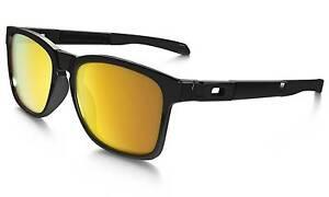 Oakley Catalyst Sunglasses with 24k gold Iridium lenses Pasadena Mitcham Area Preview