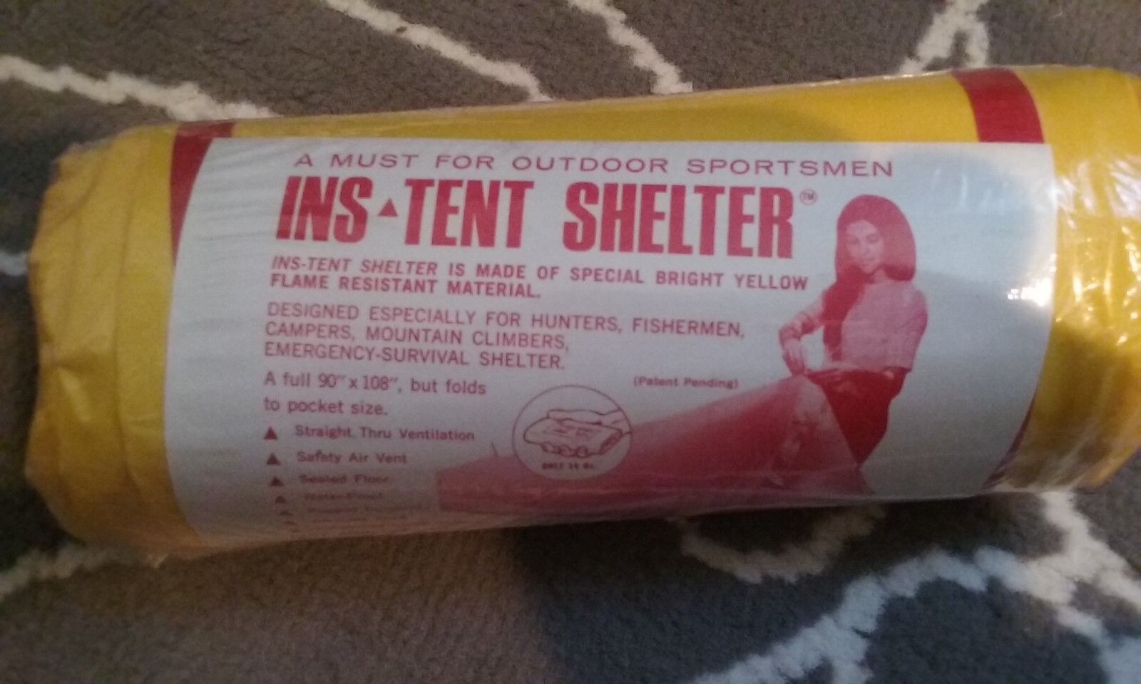camping tent compact light INS yellow outdoors sports emerge
