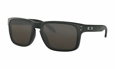Oakley HOLBROOK Sunglasses OO9102-01 Matte Black Frame W/ Grey Lens 57MM