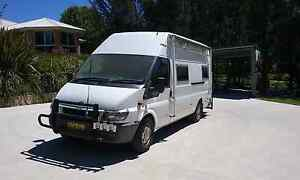 Campervan motorhome Ford Transit camper low kms Moss Vale Bowral Area Preview