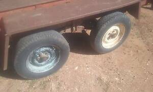 8*4 dual axle trailer cheap Blyth Wakefield Area Preview