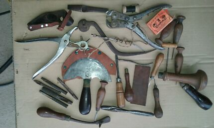 Leather tools old vintage quality  Camden South Camden Area Preview