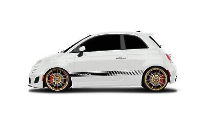 Fiat 500 Autoaufkleber