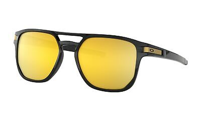 Oakley Latch Beta Sunglasses Polished Black Frame w/ Prizm 24k Polarized Lens