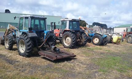 Tractors, implements, parts & tyres