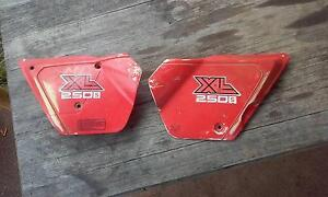 1980 Honda XL 250s sidecovers Rockley Outer Bathurst Preview
