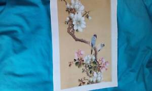 Vintage SILK PAINTINGS Bundall Gold Coast City Preview