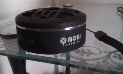 Moki bass disk, Bluetooth speaker