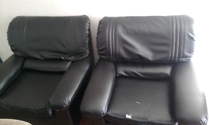 For free black arm chairs