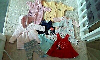 Baby girl make your own bundle of next John Lewis clothes dress coat NEWBORN