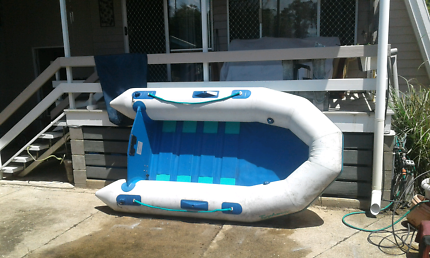 Avon typhoon 7.5ft inflatable boat with Parson 3.6hp two sroke