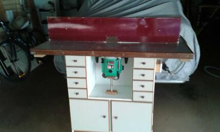 ROUTER TABLE/CABINET