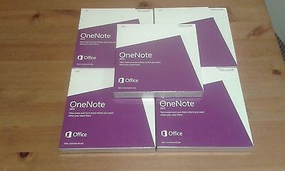 Microsoft One Note Non Commercial 2013 Dvd X 5 Pcs