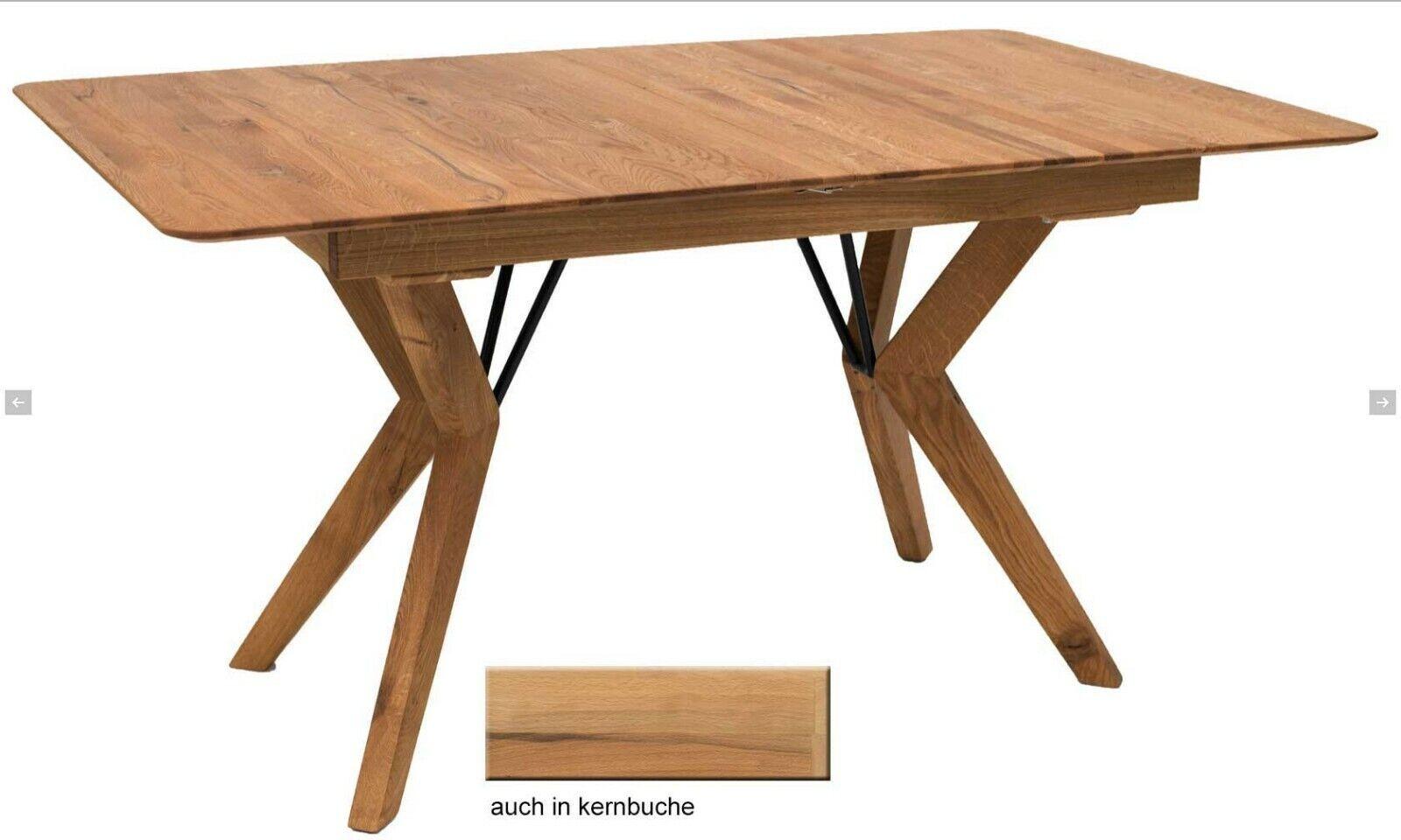 Standard Furniture Grenoble Esstisch massiv Massivholztisch eiche kernbuche