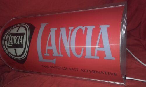 Lancia,integrale,delta,illuminated,display,workshop,garage,sign,light,mancave