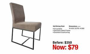 EX DISPLAY DINING CHAIR Granville Parramatta Area Preview