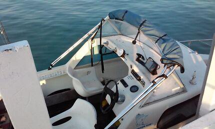 Halfcab 16ft fishing boat swap/sell Mornington Mornington Peninsula Preview