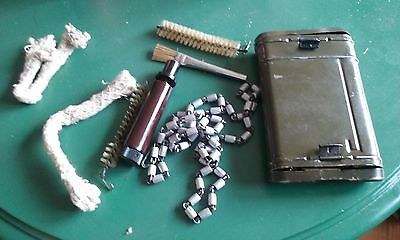 Original German Tobacco Mauser K98 G43 Cleaning Kit 98k G50