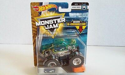 Hot Wheels Monster Jam X-RAY BODY VIRGINIA GIANT 2/3 Mattel 2018 NEW