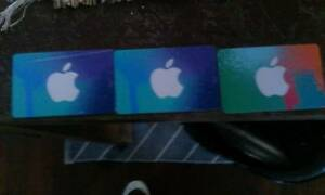 discounted itunes giftcards Stirling Stirling Area Preview