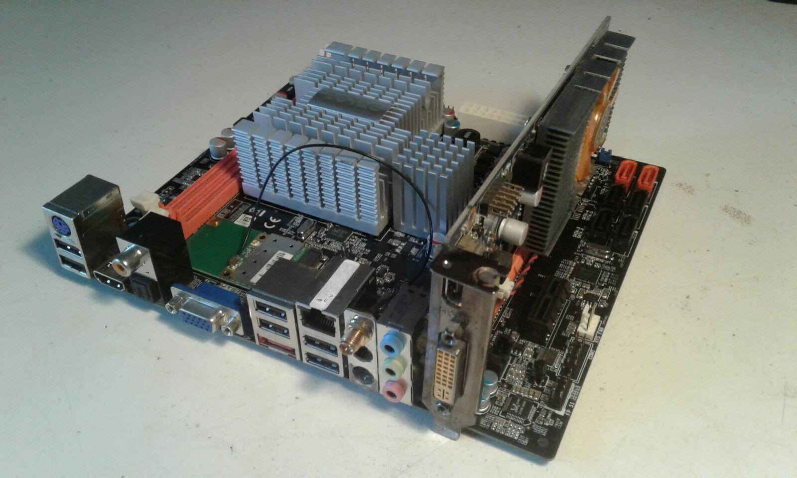 Mainboard ZOTAC NM10 DTX WIFI (defekt!), RAM 4GB, Grafikkarte GT218 ION 512MB