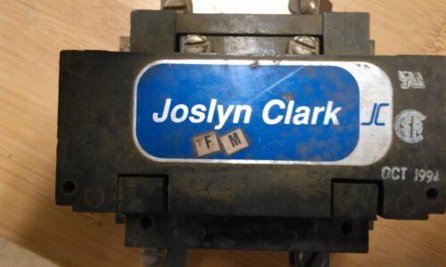 JOSLYN CLARK 2 POLE CONTACTOR RELAY