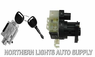 - New Replacement Switch & Ignition Lock Cylinder W/ Keys for Chevy Olds Pontiac