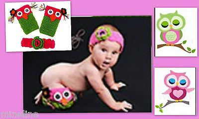 ★★★NEU Baby Fotoshooting Kostüm 2 Tlg. Kleine Eule 0-6 Monate★★★Nr.Y