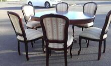 6 Dinning chairs & 1table Warrenheip Ballarat City Preview
