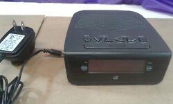 Vintage GPX Digital Alarm Clock Radio GPX-C244B, AC/DC Travel Alarm AM/FM