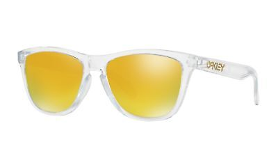 Oakley OO9245-39 Sunglasses Frogskins Crystal Collection A/F Polished (Oakley Collection)