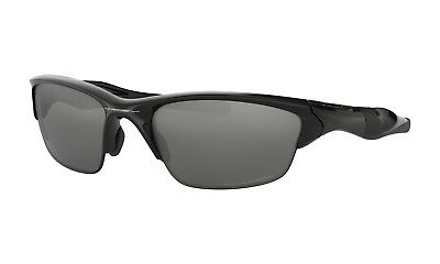 cfd68a9dac Oakley OO9144-04 Men s Half Jacket 2.0 Sunglasses Black Polarized Iridium  Lens