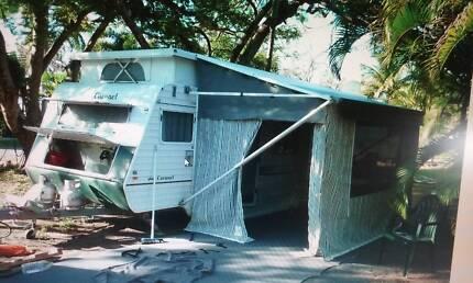 2006 Coronet poptop caravan