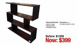 BOOKCASES & SHELVING - up to 80% OFF RRP Leumeah Campbelltown Area Preview