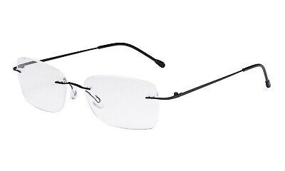 Ladies Frameless Reading Glasses - Lightweight Rimless Readers (Lightweight Rimless Glasses)