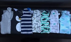 Lot of Boys Sleepers & 1 Outfit