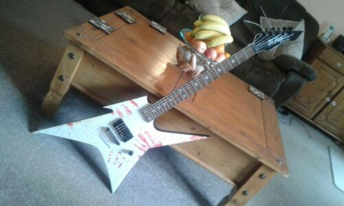 b.c rich body art collection ironbird guitar