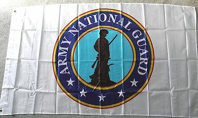 ARMY NATIONAL GUARD UNITED STATES  US MILITARY POLYESTER FLAG 3 X 5 FEET