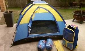 Kids tent with sleeping bags Leumeah Campbelltown Area Preview
