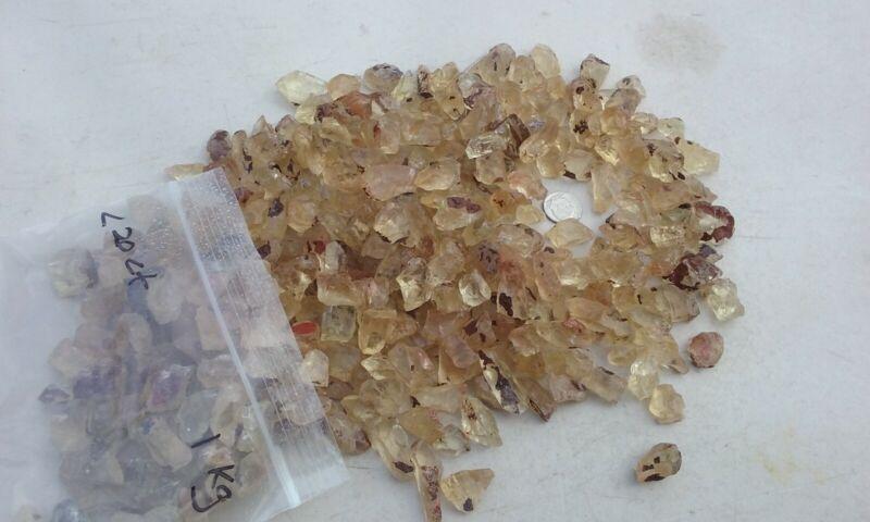 Oregon Sunstone facet grade rough 10-20 carat champagne 1 kilo
