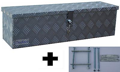 Truckbox D035 inkl. Montagesatz MON2012, Deichselbox, Deichselkasten, Alukasten