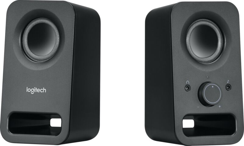 Logitech - z150 2.0 Multimedia Speakers (2-Piece) - Black