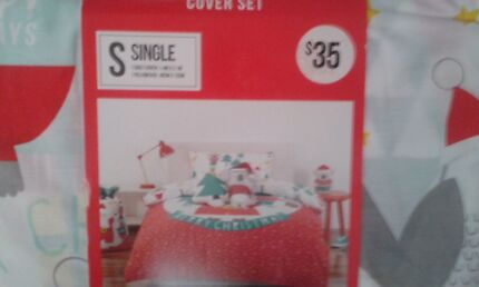 XMAS SINGLE BED QUILT COVER BRAND NEW!!! Macquarie Fields Campbelltown Area Preview