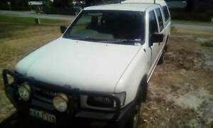 Holden Rodeo V6 twin cab 2001