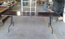 Vintage fold up original trestle table Thomastown Whittlesea Area Preview