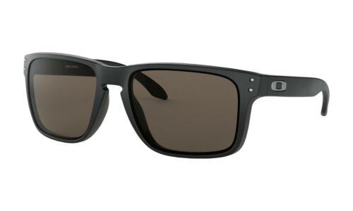Oakley HOLBROOK XL Sunglasses OO9417-0159 Matte Black Frame W/ Warm Grey Lens