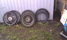 motorbike wheels and tyres George Town George Town Area Preview