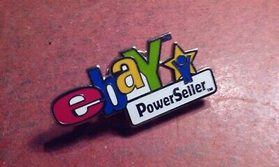 eBay Live Convention Collectible Vintage PowerSeller Enameled Lapel Pin 2003