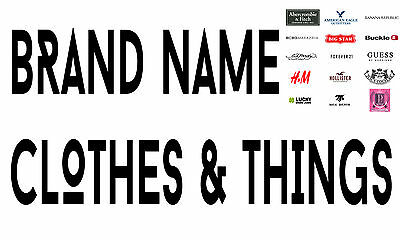 BRAND NAME CLOTHES N THINGS BY LISA