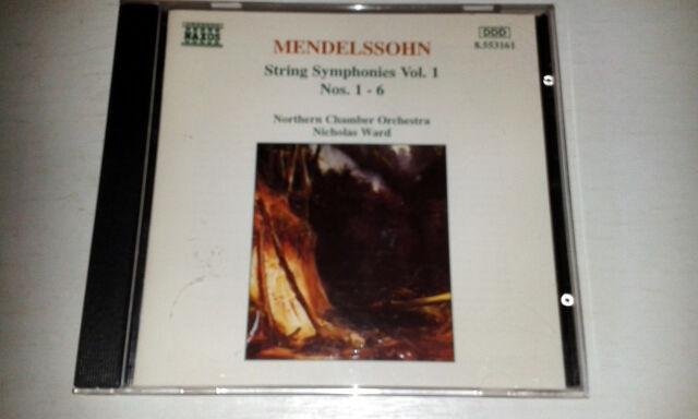Felix Mendelssohn - Mendelssohn: String Symphonies Nos. 1 - 6 (1996)